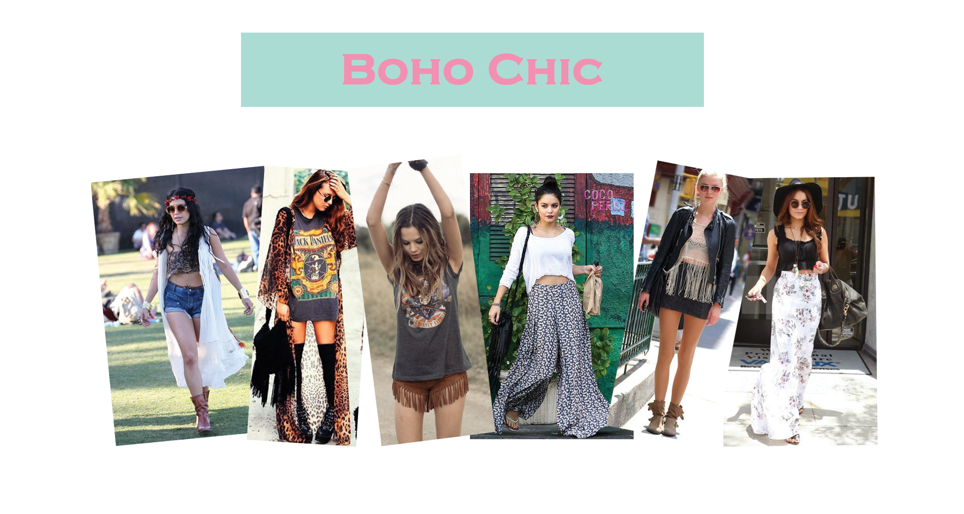 how to get a boho look