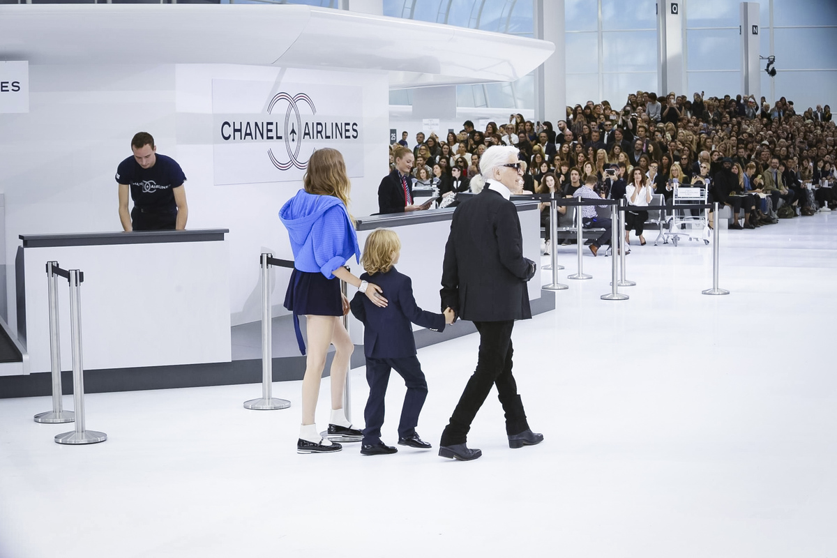 Chanel Fahion Show Ready to Wear Collection Spring Summer 2016 in Paris