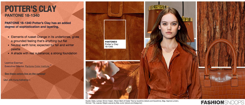 Foto: Relatório de tendências Pantone