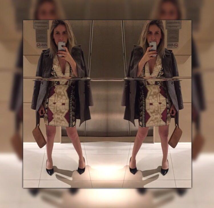 Vestido + Carteira Dimy | Scarpin Arezzo | Trench Coat LeLisBlanc