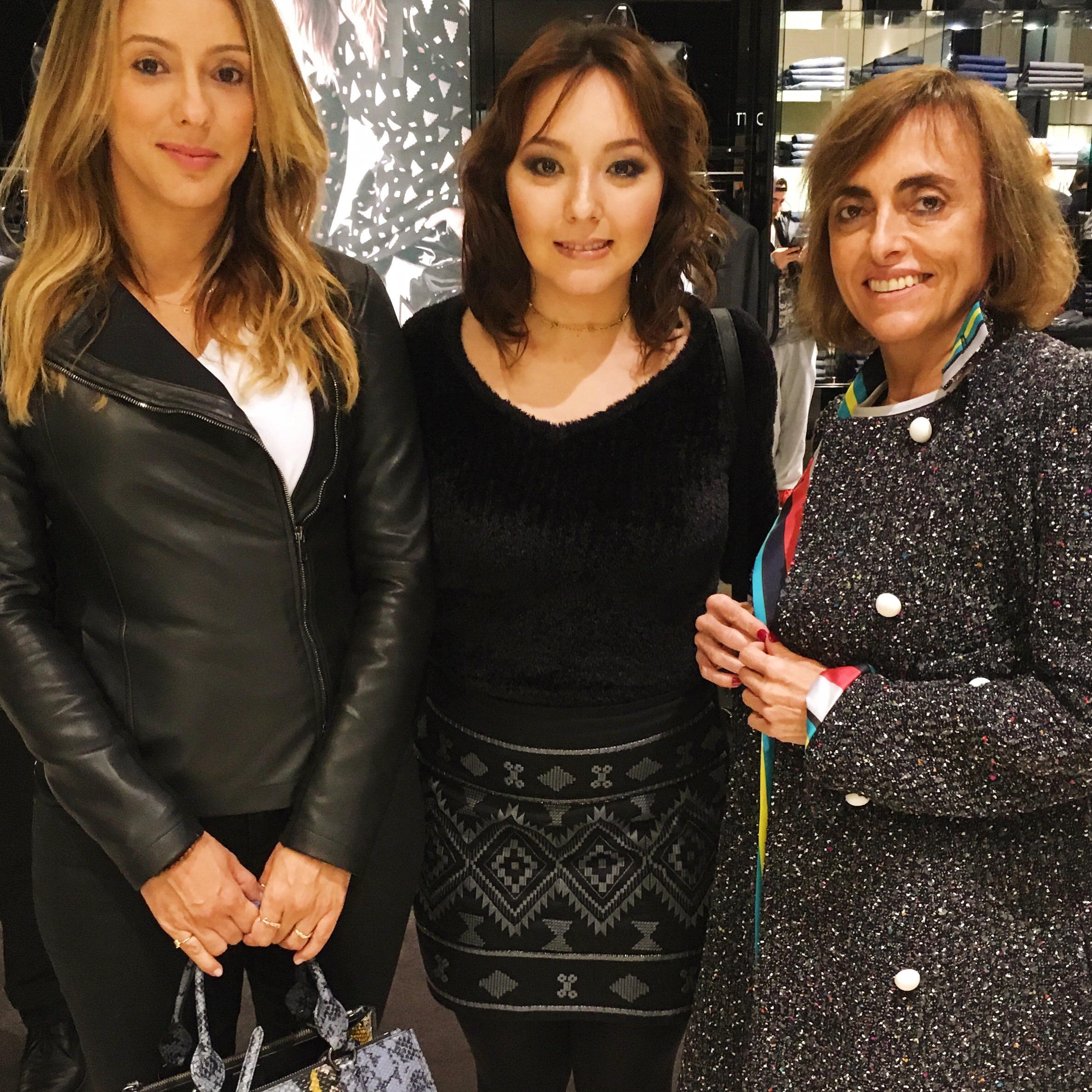 Camila Russo, Bruna Nakano e Patrícia Carta